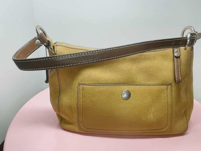 Vintage Coach Small Purse Suede Leather for sale in American Fork , UT