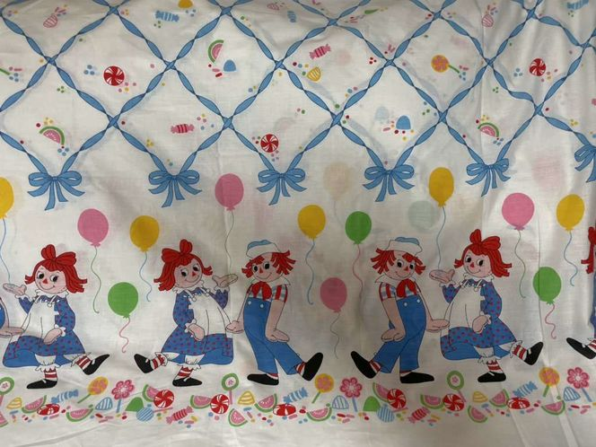 Vintage Raggedy Ann & Andy Fabric for sale in American Fork , UT