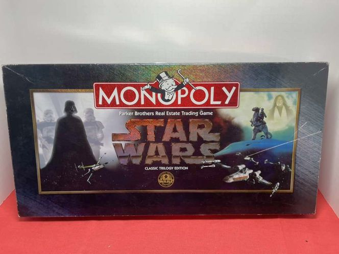 Star Wars Monopoly Classic Trilogy Edition for sale in American Fork , UT