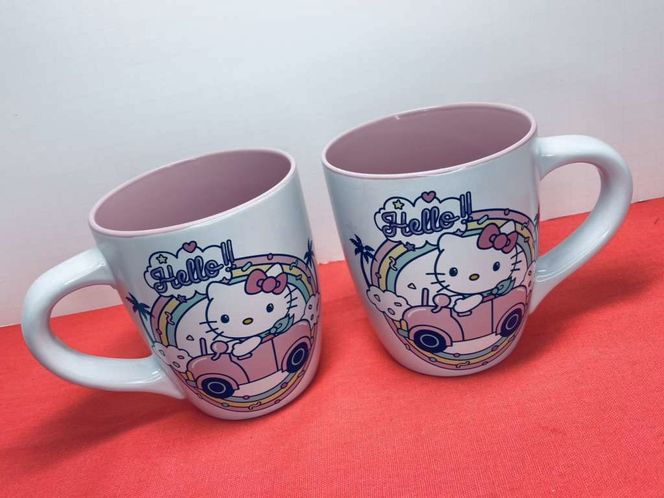 Two Large Hello Kitty Mugs for sale in American Fork , UT