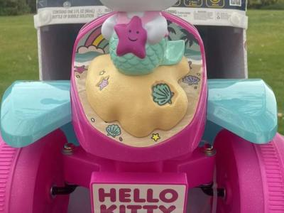 Hello Kitty Ride On Bubble Quad New In Package