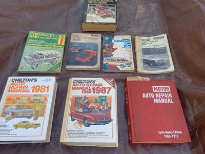 Auto Repair Manuals Chilton 1970s/80s Trucks Vans