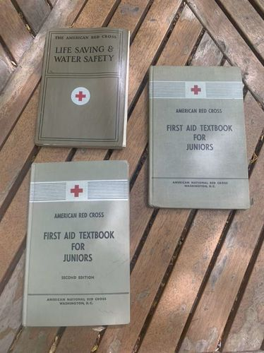 Vintage Red Cross Education And Safety Books  for sale in Sandy , UT