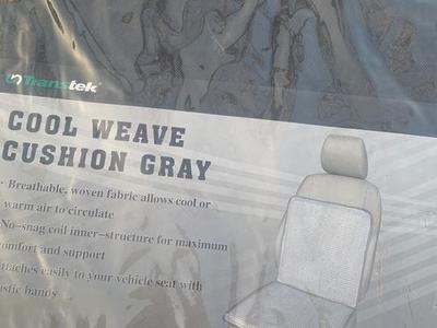 NEW Cool Weave Cushion (Gray)