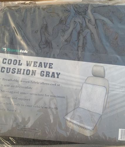 NEW Cool Weave Cushion (Gray) for sale in Sandy , UT