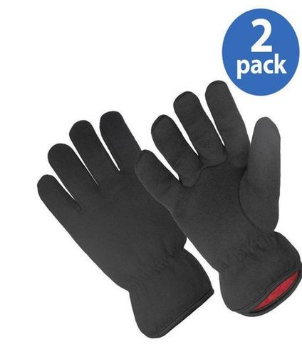 NEW Lot Of 10 Red Fleece Lined Brown Jersey Gloves for sale in Sandy , UT