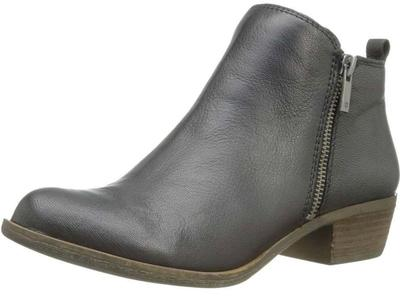 NEW! Lucky Brand 100% Leather Ankle Booties Size 8