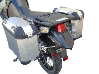 08-18 KLR 650 Pannier Luggage Set - Limited Stock Left -
