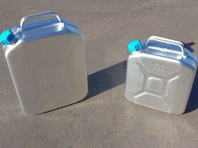 Aluminum Jerry Cans