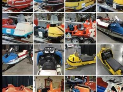 Old, Restorable Snowmobiles. Over 300 To chose Fr