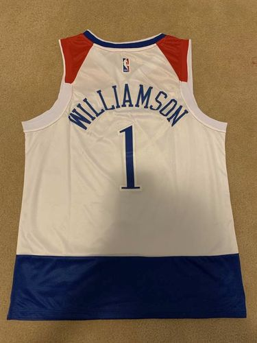 Zion Williamson jersey here for sale in Springville , UT