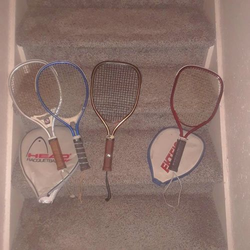Vintage racquet ball raquets for sale in Payson , UT