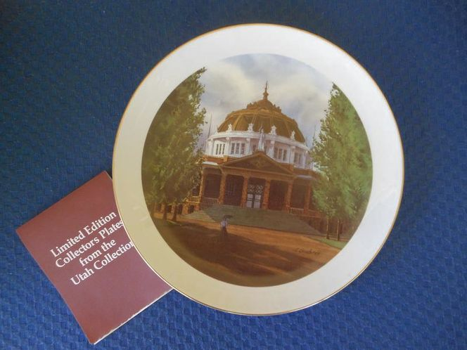 Utah Collector's Plate for sale in West Valley City , UT