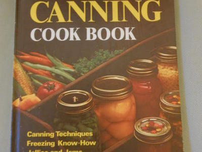 Vintage Home Canning Book