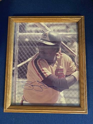 Vintage Tony Gwynn Autographed Photo SD Padres for sale in Salt Lake City , UT