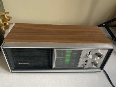Vintage Panasonic 3 Channel AM-FM Weather Radio
