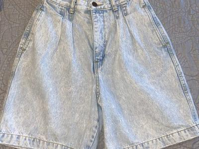 Vintage 80's High Waisted Guess Denim Shorts