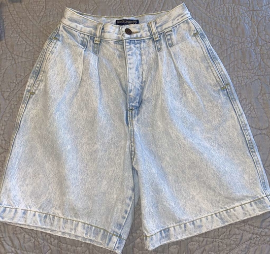 Vintage 80's High Waisted Guess Denim Shorts for sale in West Jordan , UT
