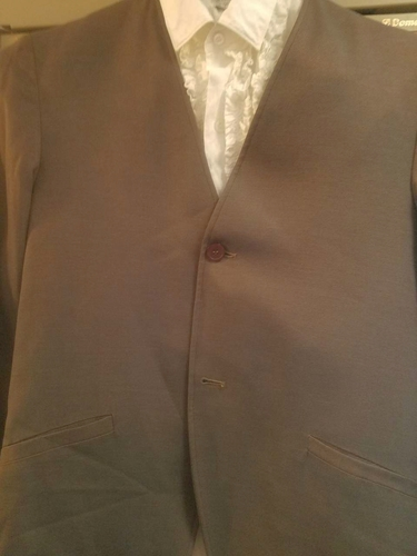 Vintage 1964 Ronnie and the Rotations Concert outfit with tuxedo shirt. very good. for sale in Provo , UT