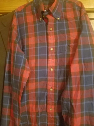 Holbrock Men's Shirt/Small/Never worn/Long sleeve/Button down collar. NEW. for sale in Provo , UT