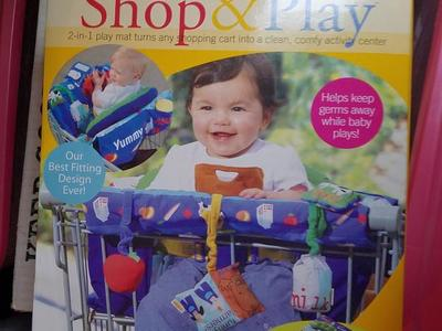 New Shop N Play for shopping cart or play mat