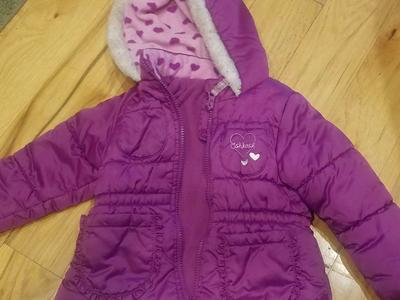 Girls 24 month Oshkosh coat purple