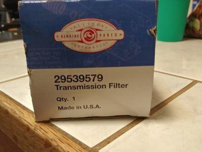 DURAMAX OWNERS Allison transmission filter