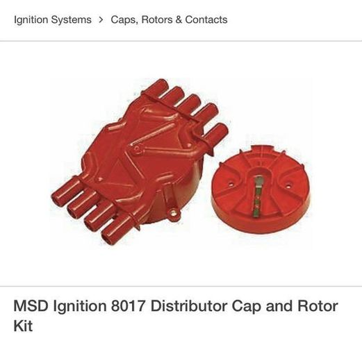 GM V8 Vortec Dist. cap and rotor kit for sale in West Valley City , UT