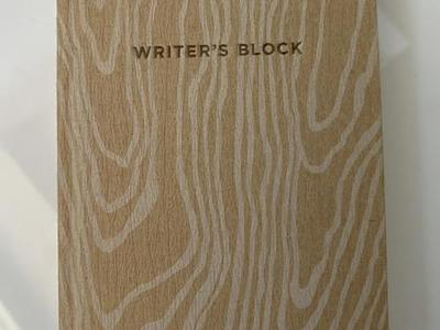 NEW! Writer's Block Journal By Potter Style