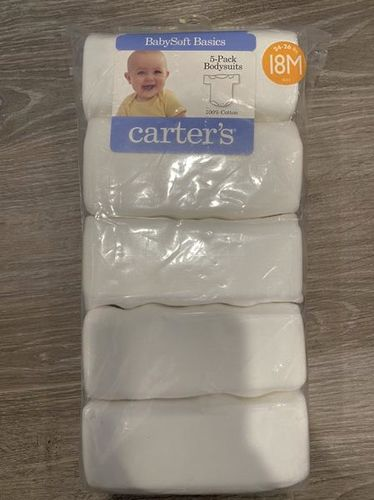NEW! Carter's 5-Pack Bodysuits In Size 18 Months for sale in Lehi , UT
