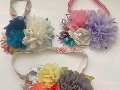 Little Girl Custom Made Headbands