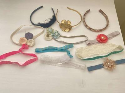 Lots of Girl's Headbands