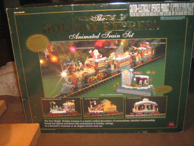 G Gauge Holiday Express Animated Train Set for sale in South Weber , UT