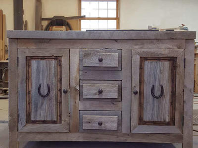 Barn Wood Furniture and Decor