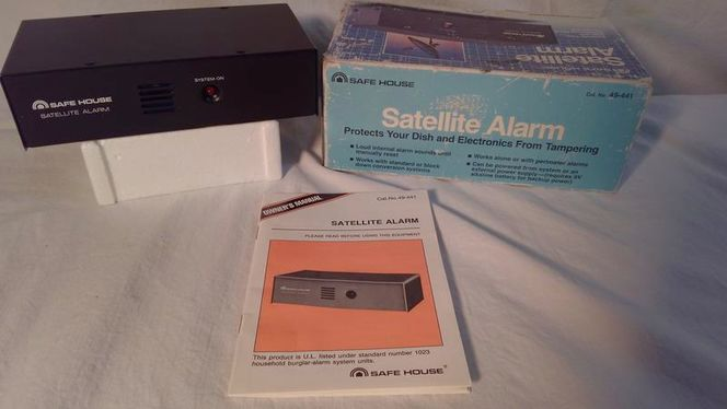 SAFEHOUSE Satellite and Electronics Security Alarm for sale in North Ogden , UT