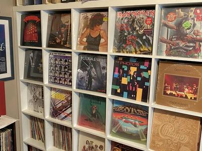 Pink Floyd , Beatles, Led Zeppelin vinyl records