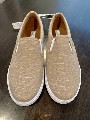 NEW Canvas Slip On Shoes - Kids Size 5 (fit big) for sale in Payson , UT