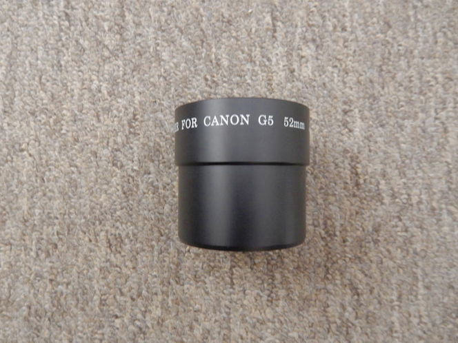 Canon G5 adapter 52mm for sale in Bountiful , UT