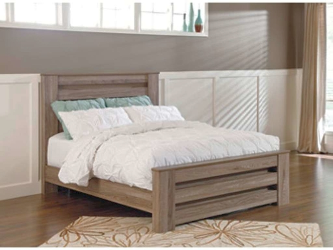 Cute Grey Queen Bed for sale in Brigham City , UT