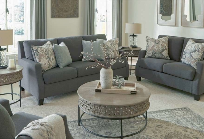 beautiful Charcoal Sofa for sale in Brigham City , UT