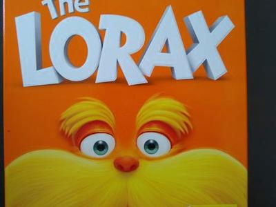 Dr Suess The Lorax dvd