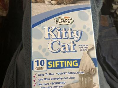 Cat litter liner Alfapet kitty cat sifting liners