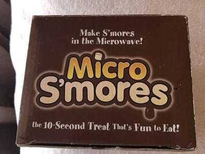 Micro S'mores maker for microwave  NEW in box