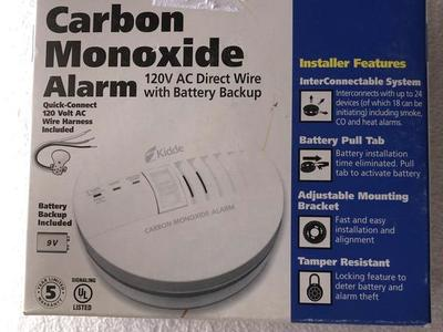 kidde Carbon dioxide alarm NEW