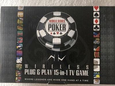 World Series Poker Excalibur game NEW