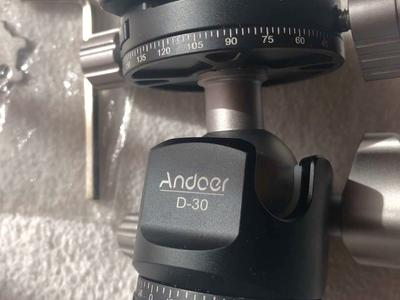 Andoer D-30 Panorama ball head mount with case Brand new