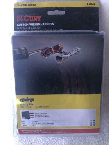 Curt custom wiring harness FORD 56093 NEW for sale in Provo , UT