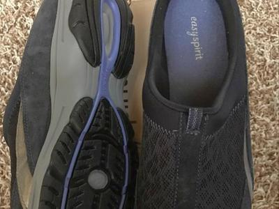 Easyspirit Navy Slip on  women shoes Shoes Size 10