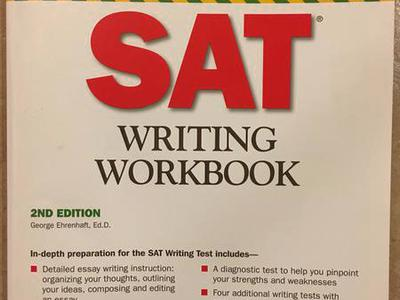 SAT Writing WorkBook For SAT Prep & Better Score!