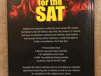 Hot Words For The SAT- A Must Have For Higher Scor